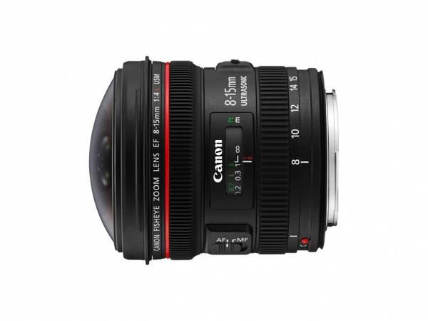 Bilde av Canon EF 8-15mm F4L Fisheye USM