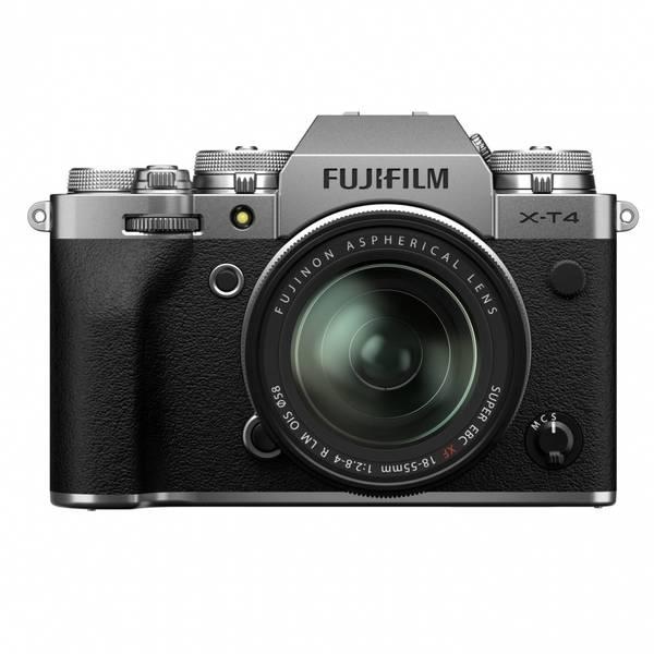 Bilde av Fujifilm X-T4 kit + FUJINON XF18-55mm F2.8-4 Sølv