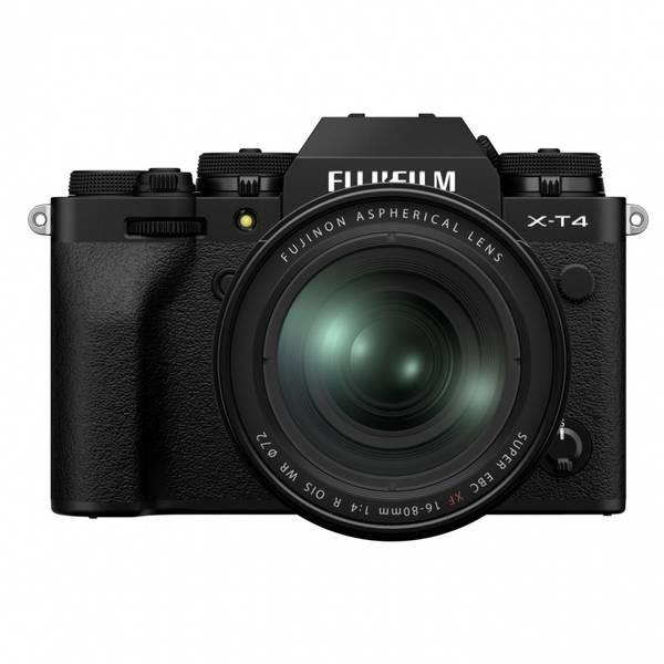 Bilde av Fujifilm X-T4 kit + FUJINON XF16-80mm F4 Sort
