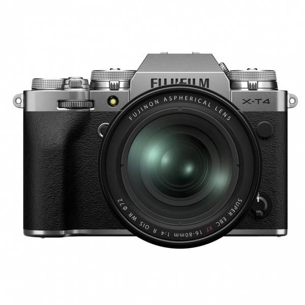 Bilde av Fujifilm X-T4 kit + FUJINON XF16-80mm F4 Sølv