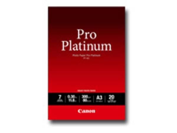Bilde av Canon PT-101 Photo Paper Pro Platinum 300g A3