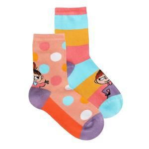Bilde av MUMMI - Lille My Sokker 2pk Coral