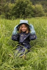 Bilde av KATTNAKKEN - Sydvest Barn Arctic Blue