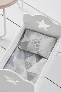 Bilde av KIDS CONSEPT - Doll Bedset Grey