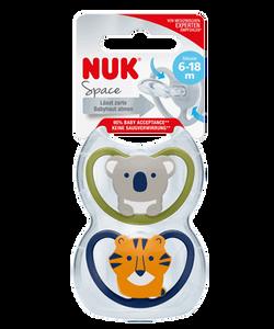Bilde av NUK - Smokk Space Koala/Tiger