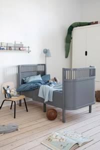Bilde av SEBRA - Seng Baby & Jr Classic Grey