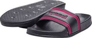 Bilde av HUMMEL - Slippers Pool Slide JR Black Iris