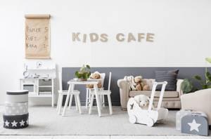 Bilde av KIDS CONSEPT - Dukkevogn Hvit Star