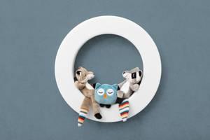Bilde av ZAZU - Vegglampe med 3 Bamser