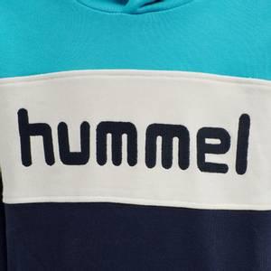 Bilde av HUMMEL - Morten Hoodie Scuba Blue