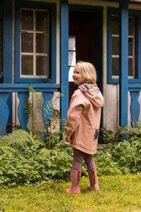 Bilde av KATTNAKKEN - Regnjakke Barn Insekt Misty Pink
