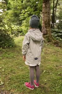 Bilde av KATTNAKKEN - Regnjakke Barn Insekt Misty Blue