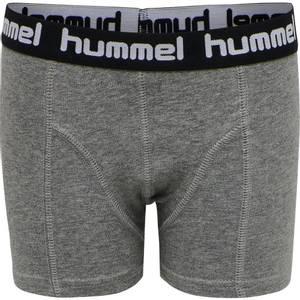Bilde av HUMMEL - Boxers 2 pk Medium Melange