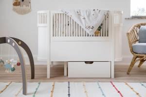 Bilde av SEBRA - Seng Baby & Jr Classic White