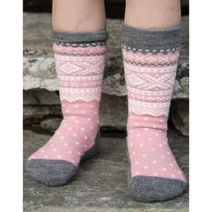 Bilde av MARIUS - Ull Sokker Lotus Pink