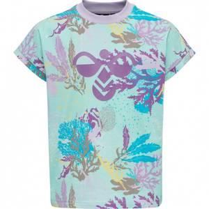 Bilde av HUMMEL - Sea T-Skjorte Blue Tint