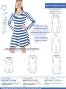 Bilde av Minikrea Raglan Jersey kjole 70044 - str 34- 50