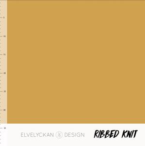 Bilde av Elvelyckan - Knitted Ribb, Gold