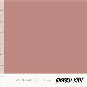 Bilde av Elvelyckan - Knitted Ribb, Blush Pink