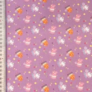 Bilde av 100% Cotton - Peppa Gris Mini Lilac