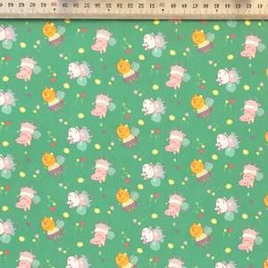 Bilde av 100% Cotton - Peppa Gris Mini Grønn