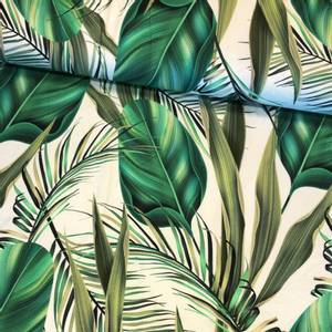 Bilde av Bambus Jersey - Green Leaves