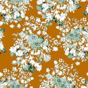 Bilde av Vortex Viskosejersey - Rustic Flowers