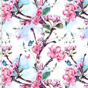Bilde av Jersey - Cherryflowers and butterflies