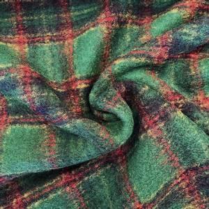 Bilde av Kokt Ull - Ruter Grønn Rød Blå