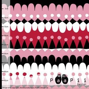 Bilde av Paapii design - Organic sweat Jussi pink/red