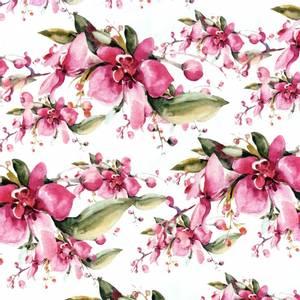 Bilde av Jersey - Flowers Hot pink watercolour