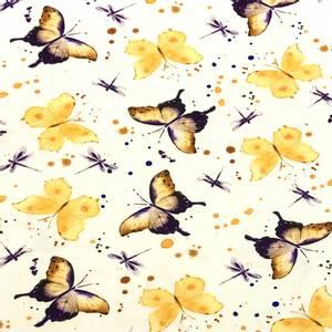 Bilde av Jersey - Butterflies Yellow