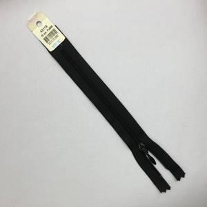 Bilde av Glidelås - 18 cm sort dråpe