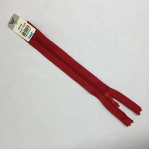 Bilde av Glidelås - 18 cm rød dråpe