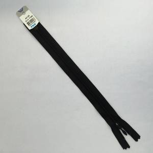 Bilde av Glidelås - 25 cm sort dråpe