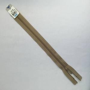 Bilde av Glidelås - 25 cm beige dråpe