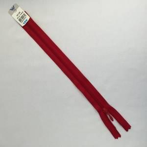 Bilde av Glidelås - 25 cm rød dråpe
