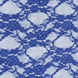 Bilde av Stretchblonde - Flowers, Blå