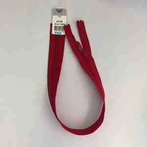 Bilde av Glidelås - 35 cm rød dråpe