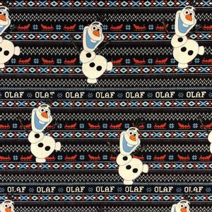 Bilde av Camelot design cotton - Frost, Olaf's Alpine Wonder