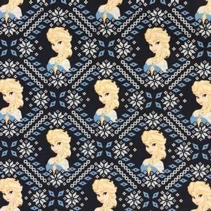 Bilde av Camelot design cotton - Frost, Elsa Fair Isle Dark Blue