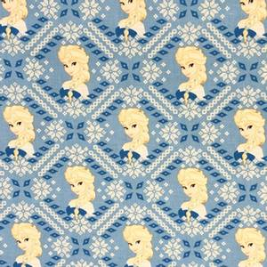 Bilde av Camelot design cotton - Frost, Elsa Fair Isle Blue