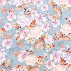 Bilde av Isoli Print Organic - Pink flowers dust