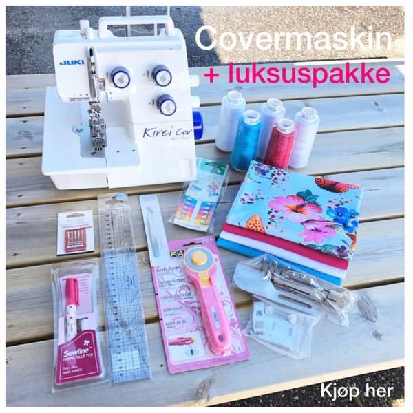 Juki MCS-1800 Covermaskin + Luksuspakke