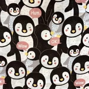Bilde av Kokka Double gauze - Penguin Pink