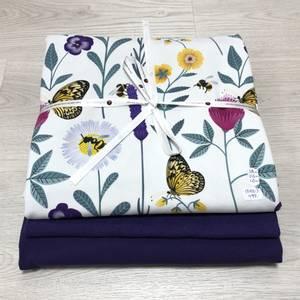 Bilde av Stoffpakke - Flowers lilac