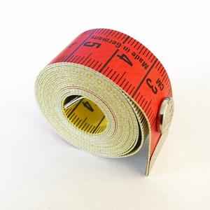 Bilde av Målebånd farget med trykknapp, 150 cm