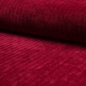Bilde av Jerseyknit Chenille Velvet  - Red