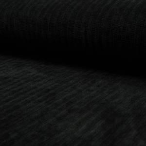 Bilde av Jerseyknit Chenille Velvet - Black