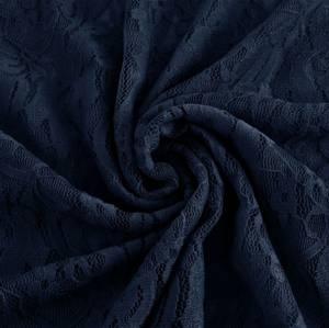 Bilde av Stretchblonde - Flowers, Marineblå